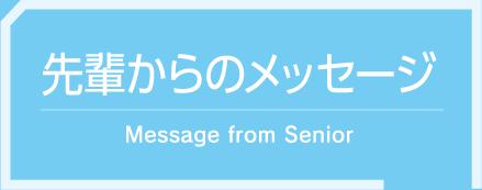 先輩からのメッセージ